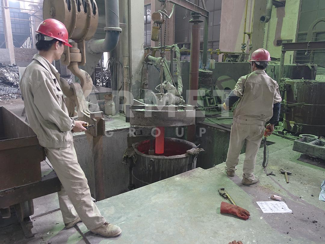 Дробящие плиты щековой дробилки_производство