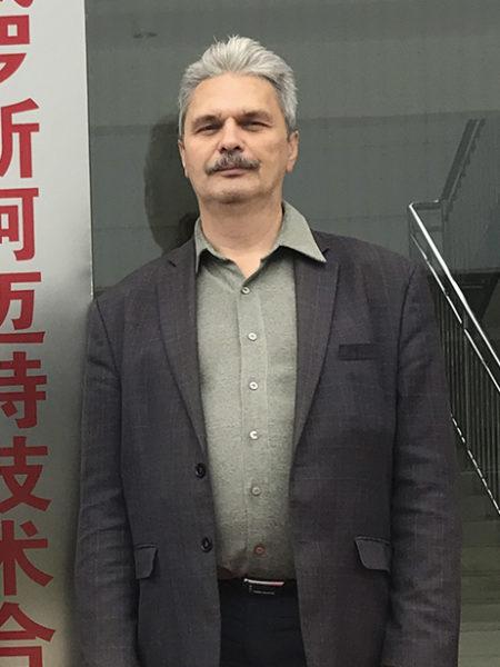 Руководитель отдела R&D компании Armet