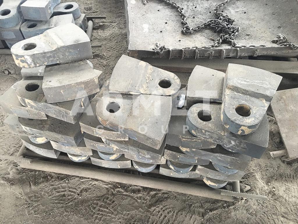 Производство молотков молотковой дробилки-молотки2